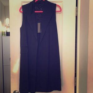 Zara women's long vest